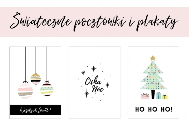 świąteczne Pocztówki I Plakaty Do Pobrania Za Darmo Już Na