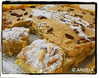 Toskańskie ciasto babci po polsku - Tuskan Grandma's Pie Recipe - Torta della nonna