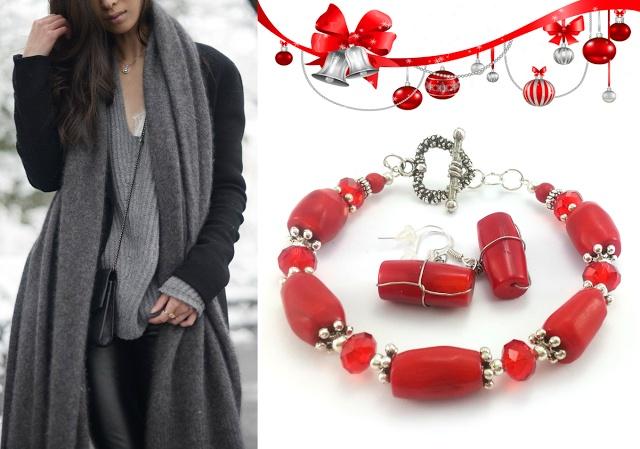 Czerwony to jeden z wiodących Świątecznych