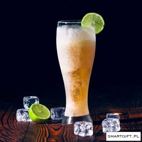 Smart Glass Szkło Borokrzemowe 650ml z chłodzącym wypełnieniem, idealne na duże piwo. Doskonały Prezent -> SmartGift.pl - Sklep z Gadżetami i Prezentami -> Kliknij w Zdjęcie :)