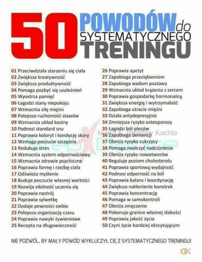 50 powodów dla których naprawdę warto