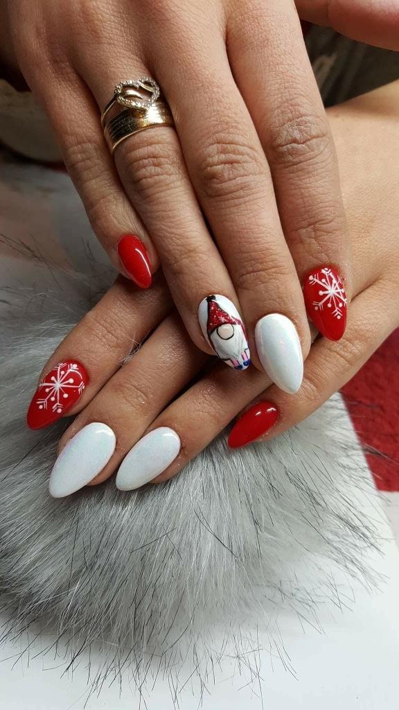 Nails Christmas Na Paznokcie Zszywkapl