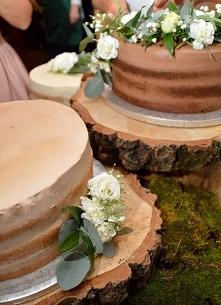 Weselne naked cake