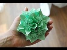 Jak zrobić Kulę Kusudama / How to make a Kusudama Ball (filmik)