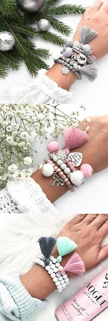 Zestawy bransoletek idealne na prezent, kliknij w zdjęcie...