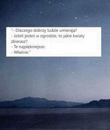 Smutne, ale prawdziwe...