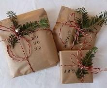 Jak oryginalnie zapakować prezenty... inspiracja :)