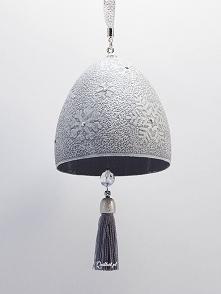 Świąteczny dzwonek z gęsiej wydmuszki, Boże Narodzenie, Sylwia Krasoń-Nowińska, Quillart