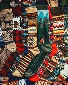 Tradycyjny już prezent świąteczny - skarpetki:)