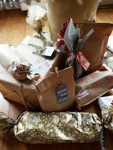 prezenty - proste i minimalistyczne pomysły na ich zapakowanie