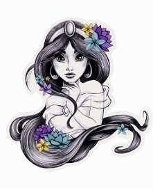 princess jasmine tattoo