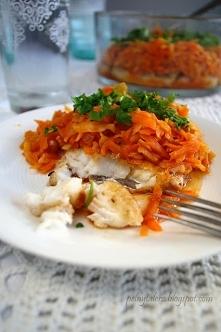 Wigilijny klasyk - Ryba po grecku  Przepis na blogu - po kliknięciu w zdjęcie...