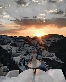 Na Santorini zawsze bajkowo