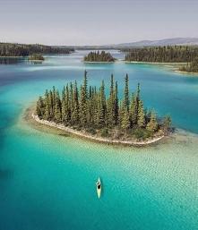Wyspa Duchów, Jezioro Maligne, Park Narodowy Jasper, Kanada