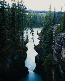 Wodospad Athabasca, Kanada