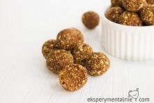Zdrowe słodkości na święta - korzenne kulki z daktyli  Zdrowe słodkości na św...