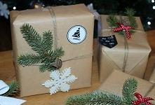 Pomysł na pakowanie prezentów gwiazdkowych