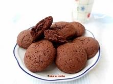 Czekoladowe ciasteczka nadziewane Nutellą