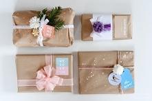 Pomysły na opakowanie prezentu+ darmowe etykiety do wydruku!
