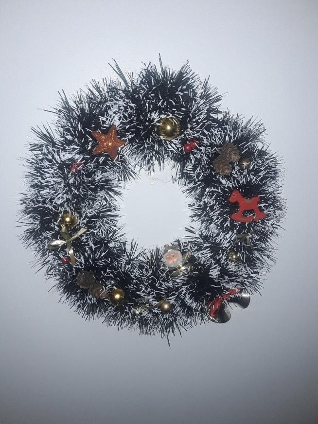 moje wieniec bożonarodzeniowy