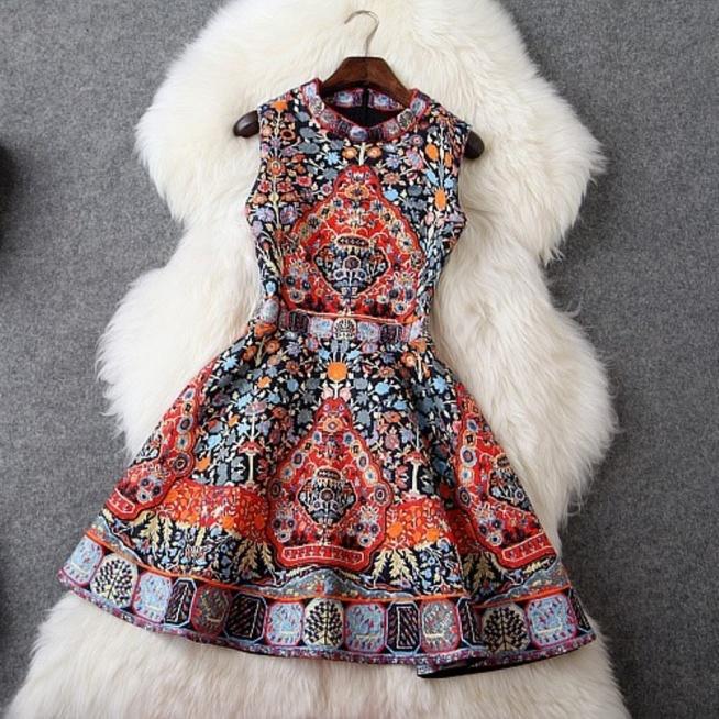 Sukienka folk
