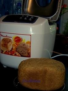 Chleb pełnoziarnisty z orkiszem