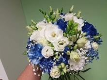 Bukiet śluby w stylu morskim ;)