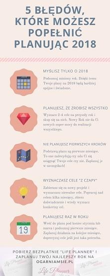 Planowanie noworocznych celów - 5 błędów jakie możesz popełnić.
