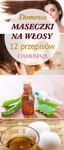 12 Przepisów na Domowe Maseczki na Włosy