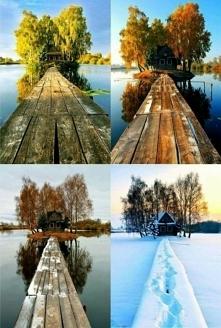 Cztery pory roku, każda ma swój urok <3