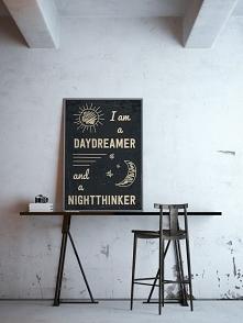 plakat dla nastolatków - typografia sprawdzi się w każdego rodzaju aranżacji!...