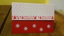 kartka bożonarodzeniowa - minimalizm