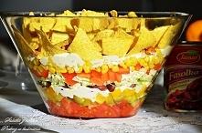 Sałatka nachos'
