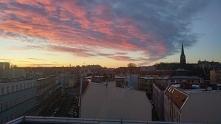 Wschod slonca, 8 rano, Szczecin <3