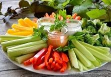 warzywa z sosem