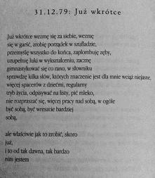 Stanisław Barańczak, 31.12....
