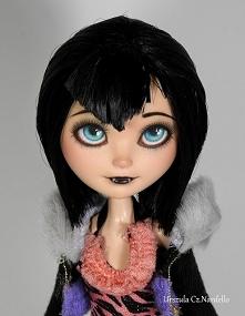 Mavis inspired ooak doll
