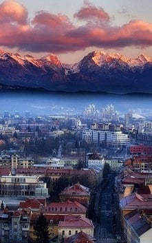 Lublana, stolica Słowenii.
