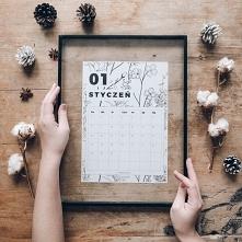 Kalendarz botaniczny do pobrania za darmo na blogu Wild Rocks (wystarczy klik...