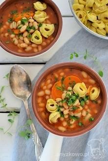 Zupa pomidorowa z fasolą
