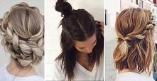 Pomysł na piękne fryzury na codzień..