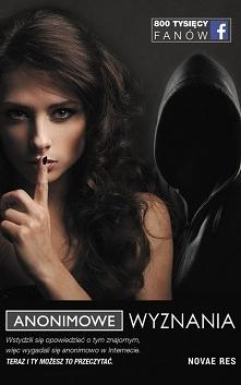 """Książka """"Anonimowe wyznania..."""