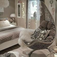 sypialnia z huśtawką
