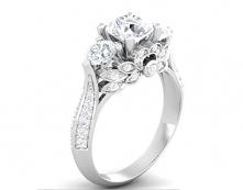 piękny pierścionek zaręczynowy:) srebro link po kliknięciu na zdjęcie:)
