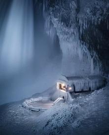 wodospad Niagara zamarzł niesamowite