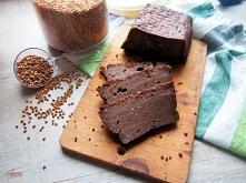 czekoladowe ciasto gryczane