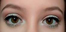 Tak prezentuje się makijaż na oczach w moim wykonaniu :)