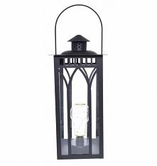 Lampa - latarnia metalowa n...