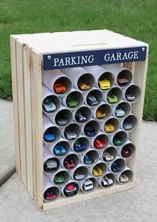 Garaż dla resoraków