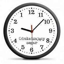 Zegar Odmładzający - odmierza czas do tyłu :) Doskonały Prezent Na Dzień Babc...